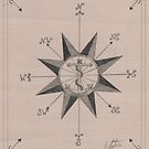 Nautical Compass by jannetteau