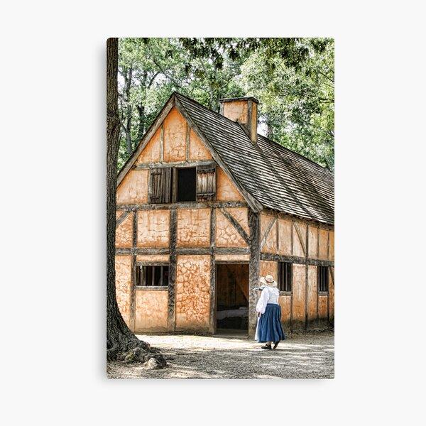 Jamestown Settlement Canvas Print