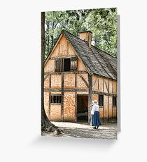 Jamestown Settlement Greeting Card