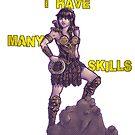 She Has Many Skills by Arkie Ring