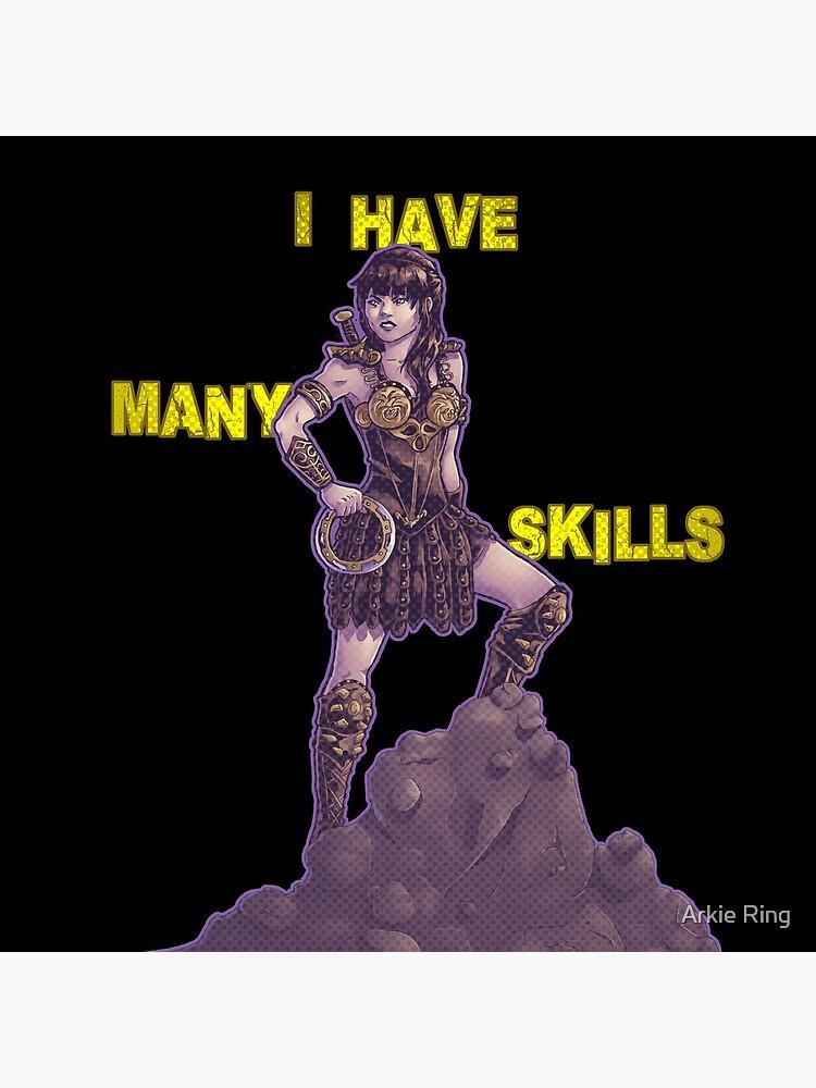 She Has Many Skills by ArkieMalarkey