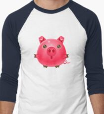 Pig Baby Animal In Girly Sweet Style T-Shirt