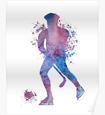 Hockey player Poster