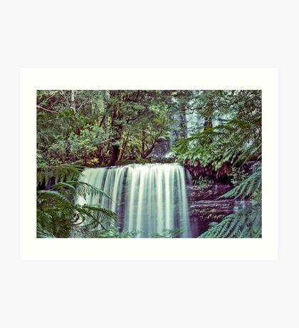 Tasmania's Russell Falls Art Print