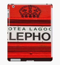 Telephone Booth Sign iPad Case/Skin