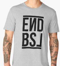 End BSL Text (Black) Men's Premium T-Shirt