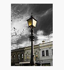 Lamp Mysticism Photographic Print