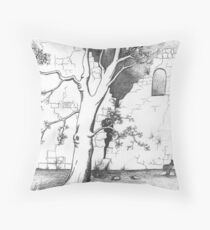 Tree of Youth Throw Pillow