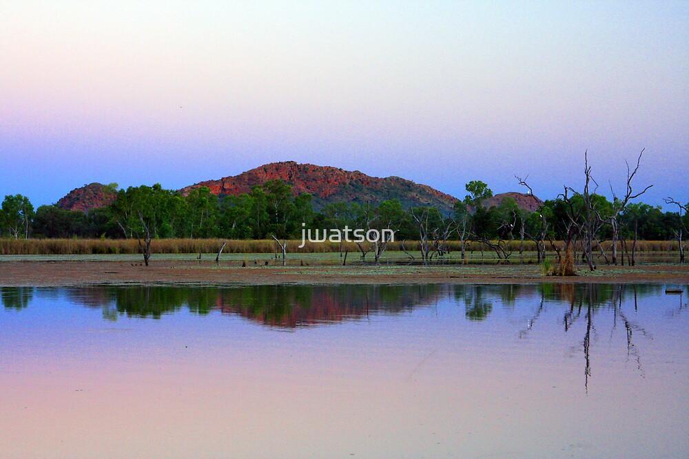 Lily Lake, Kununurra by jwatson