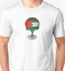 Tree of Life with Palestinian Flag T-Shirt