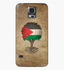 Baum des Lebens mit palästinensischer Flagge Hülle & Skin für Samsung Galaxy