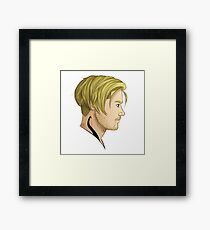 Blond puppy Framed Print