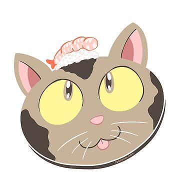 Nigiri Kitty by hpkomic