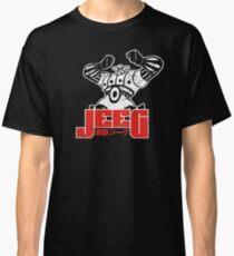 Camiseta clásica Robot Jeeg - Blanco y rojo