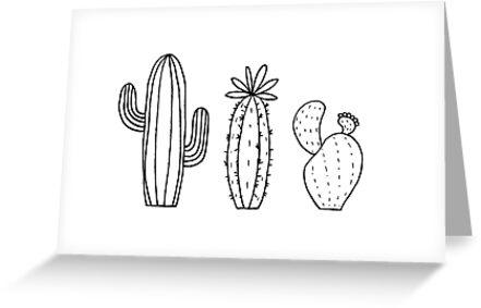 Kaktus-Trio von galacticthought