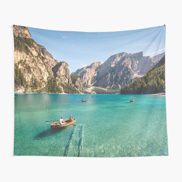 Live the Adventure - Lago Di Braies XIX Tapestry