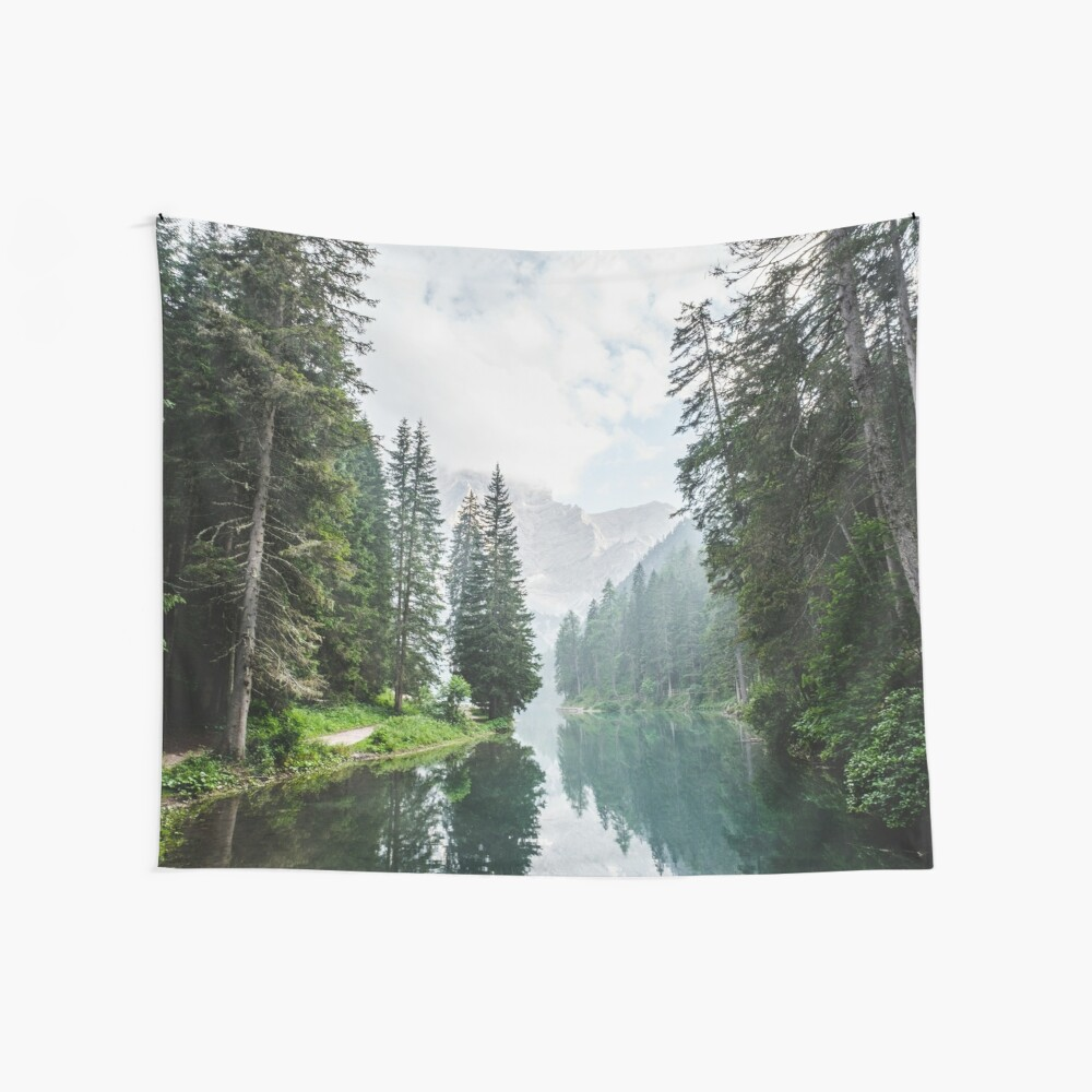 Live the Adventure - Lago Di Braies X Wall Tapestry