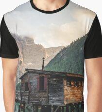 Live the Adventure - Lago Di Braies XI Graphic T-Shirt