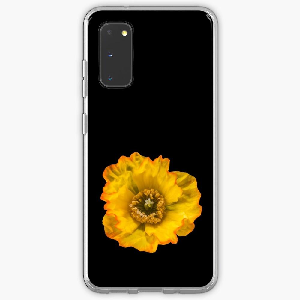 Yellow Poppy Case & Skin for Samsung Galaxy