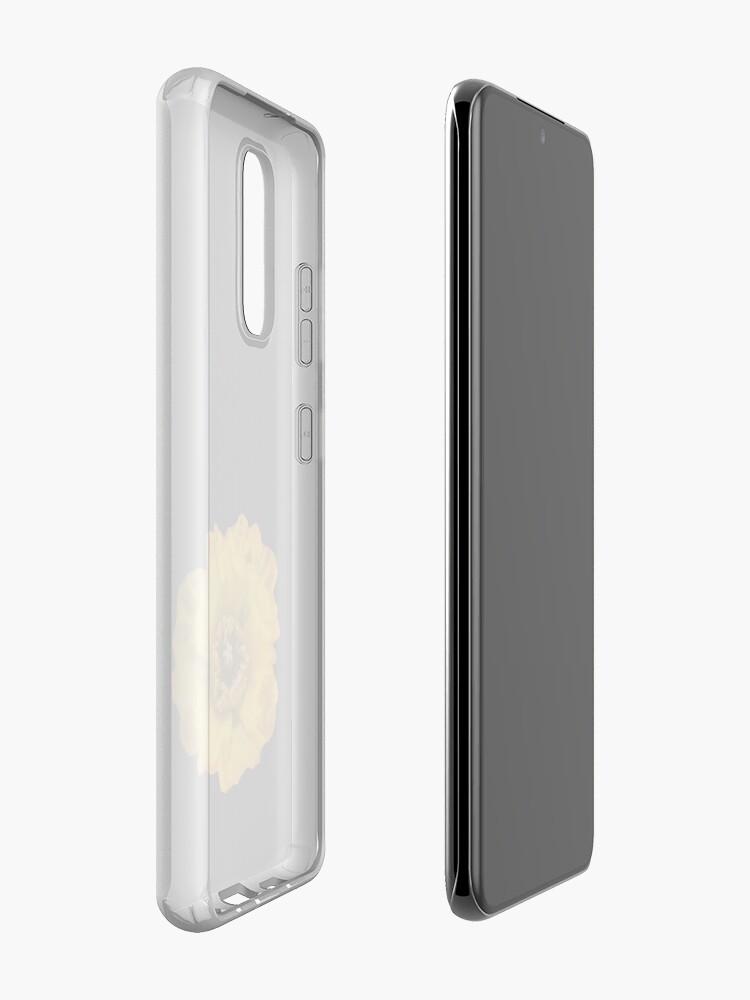 Alternate view of Yellow Poppy Case & Skin for Samsung Galaxy