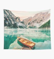 Live the Adventure - Lago Di Braies XVII Wall Tapestry