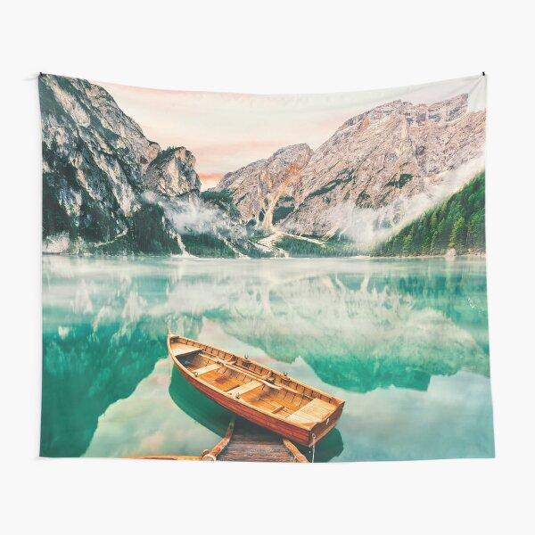 Live the Adventure - Lago Di Braies XVII Tapestry