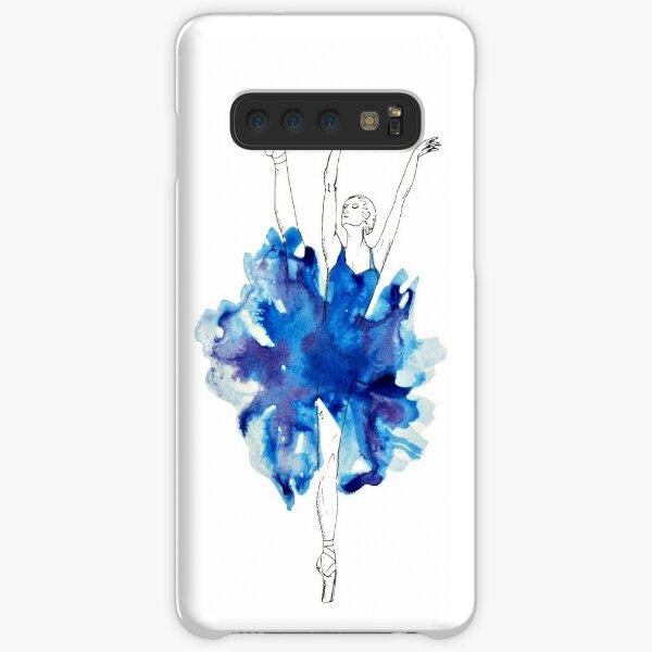 Watercolour Ballerina Samsung Galaxy Snap Case
