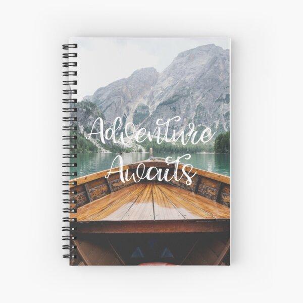 Live the Adventure - Adventure Awaits Spiral Notebook