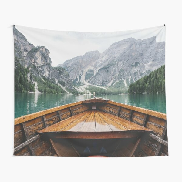 J'ai une collection entière dans mon magasin de ce lac dans les Dolomites italiennes. Découvrez le reste!    Le Pragser Wildsee Tentures