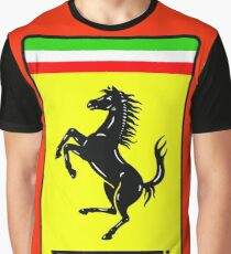 Ferrari Logo Graphic T-Shirt