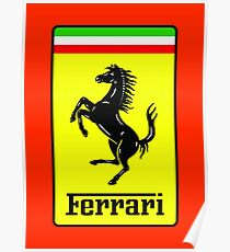 Ferrari Logo Poster