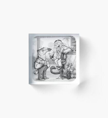 Tamandua's joke Acrylic Block