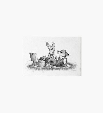 Foxy picnick Art Board