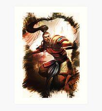 League of Legends XIN ZHAO Art Print