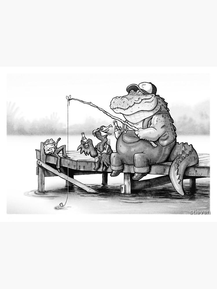 Fishing Buddies by stieven