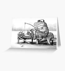 Fishing Buddies Greeting Card
