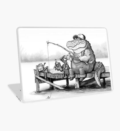 Fishing Buddies Laptop Skin