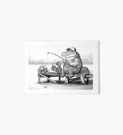 Fishing Buddies Art Board