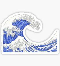 Great Blue Wave Sticker