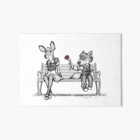 First Love Art Board Print