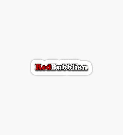 RedBubblian Sticker