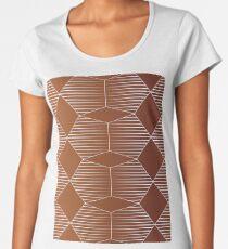 Arombado Tierra Camiseta premium para mujer