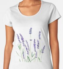 purple lavender  Women's Premium T-Shirt