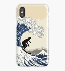 The Great Surfer of Kanagawa iPhone Case