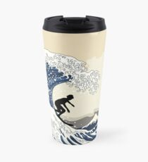 The Great Surfer of Kanagawa Travel Mug