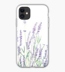 purple lavender  iPhone Case