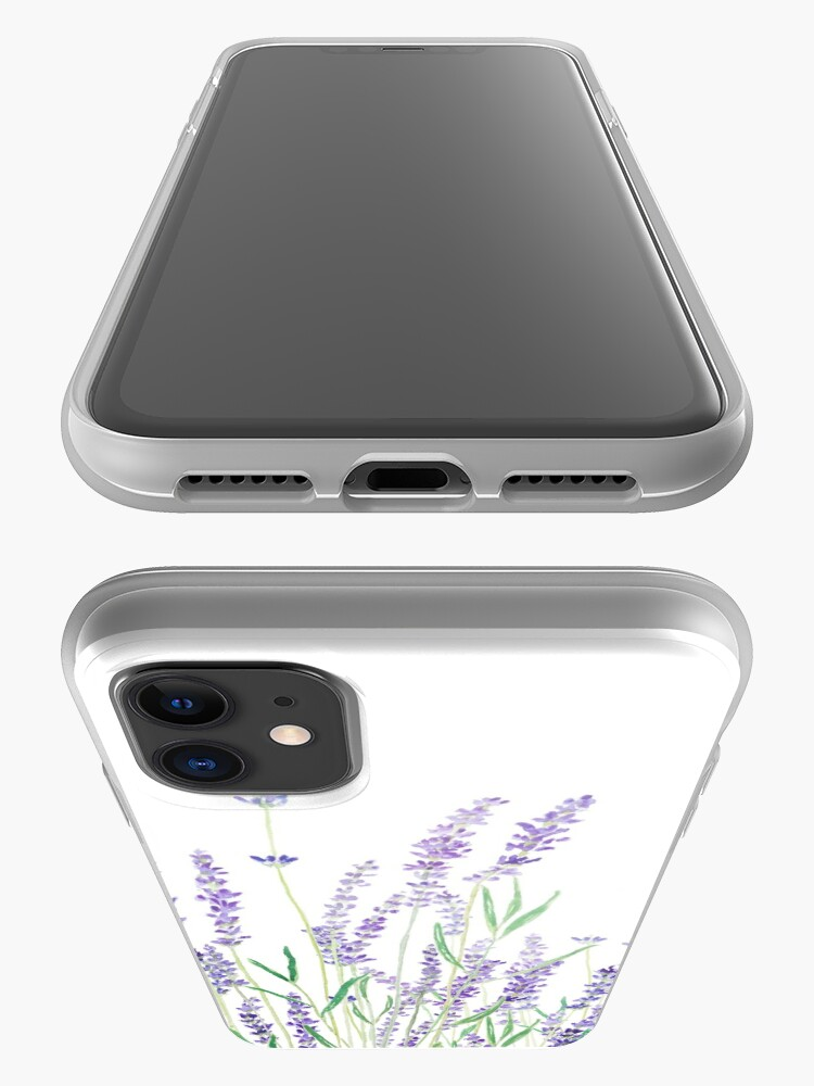 Alternate view of purple lavender  iPhone Case & Cover