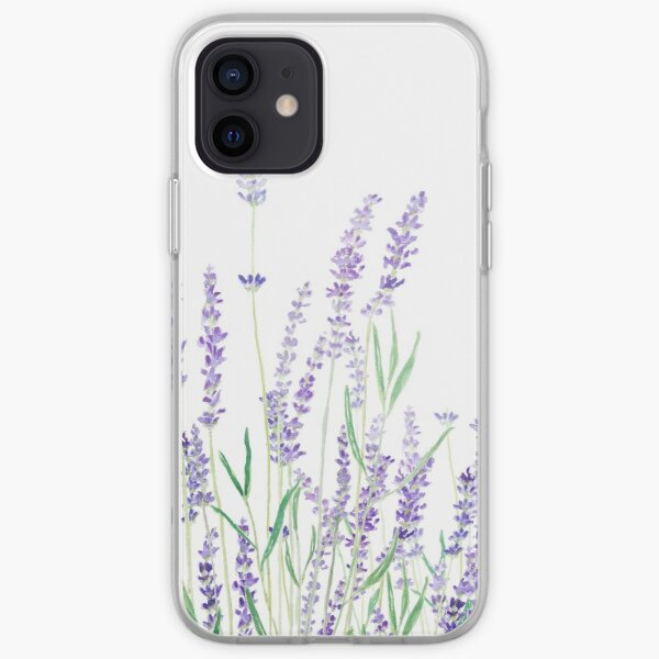 purple lavender  iPhone Soft Case