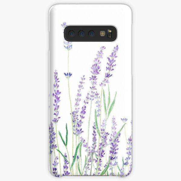 purple lavender  Samsung Galaxy Snap Case