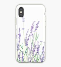 purple lavender  iPhone Case